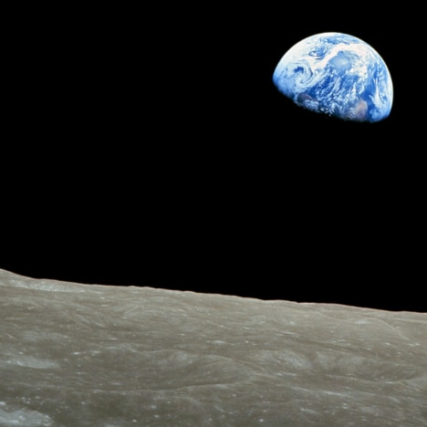 The classic NASA image of the Earth from the Moon